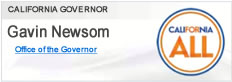 Website of the Governor, Gavin Newsom